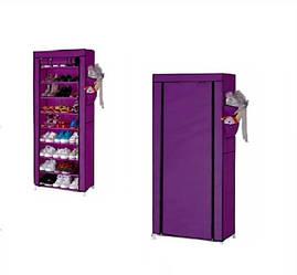 Органайзер для хранения обуви Compages Shoes Shelf T-1099 Фиолетовый
