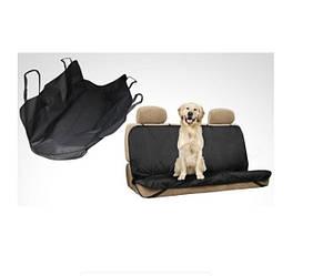 Чехол на заднее сиденье для перевозки животных PetZoom Loungee 145 x 150 см Черный