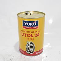 Пластична змазка Юкойл ЛІТОЛ-24 (0.8 кг) YUKOIL