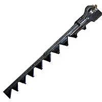 Нож режущего аппарата ДОН-1500А коса 7м. 3518050-16170-02