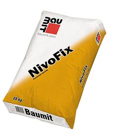 Фасадний клей Baumit (Бауміт) NivoFix для плит з пінополістиролу і мінеральної вати (25 кг)
