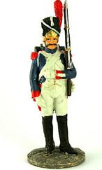 Наполеонівські війни №02 | Eaglemoss 1:32 | Рядовий 1-го полку піших гренадер