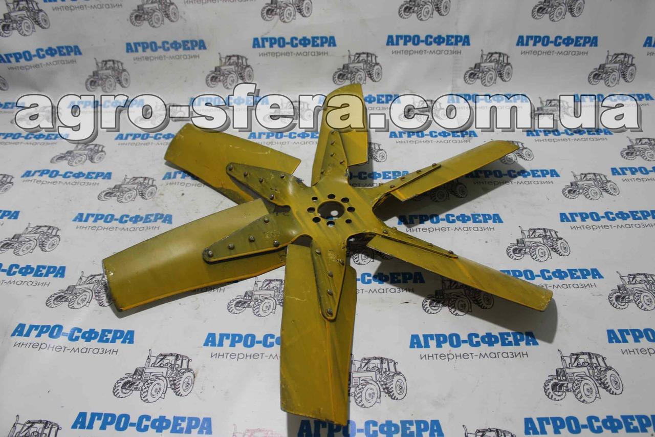 Вентилятор 22-13с10А двигателя СМД 18-22 НИВА, ДТ-75  на 6-ть лопастной