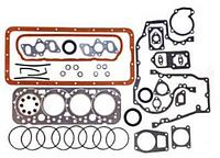 Комплект прокладок двигателя Д-65 ЮМЗ полный+РТИ паронит