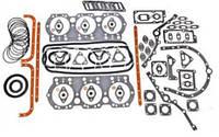 Комплект прокладок двигателя ЯМЗ-236 н.о полный+РТИ паронит