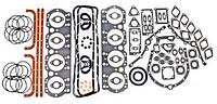 Комплект прокладок двигателя ЯМЗ-238 н.о. полный+РТИ паронит