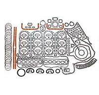 Комплект прокладок двигателя ЯМЗ-240 объединенная ГБЦ полный+РТИ паронит