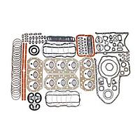 Комплект прокладок двигателя ЯМЗ-240 объединенная ГБЦ полный+РТИ облицованная металлом