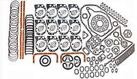 Комплект прокладок двигателя ЯМЗ-240 индивидуальная ГБЦ полный+РТИ