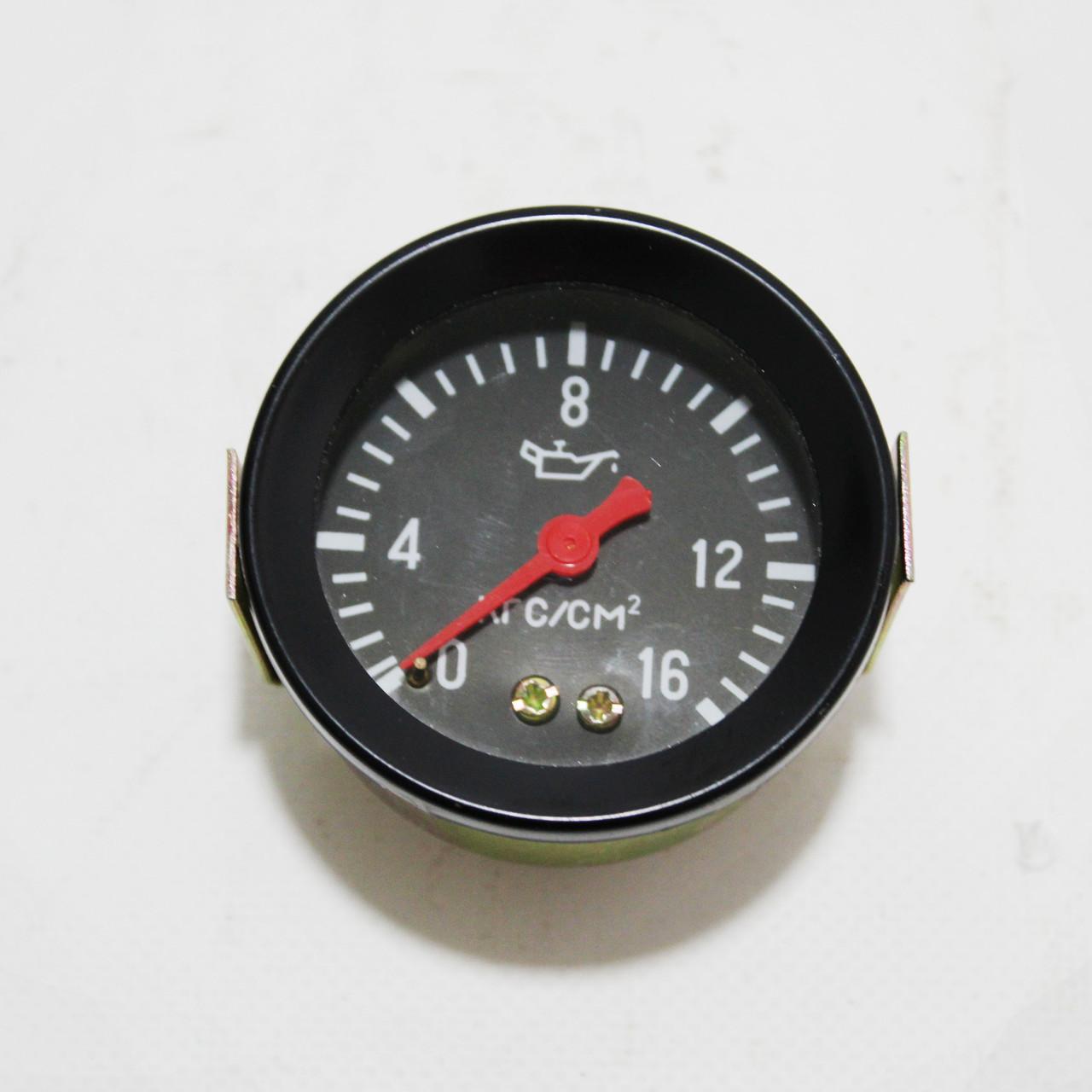 Покажчик тиску масла МД-225 Т-150, МТТ-16 (16 атм) механічний