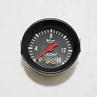Покажчик тиску масла МД-225 Т-150, МТТ-16 (16 атм) механічний, фото 1