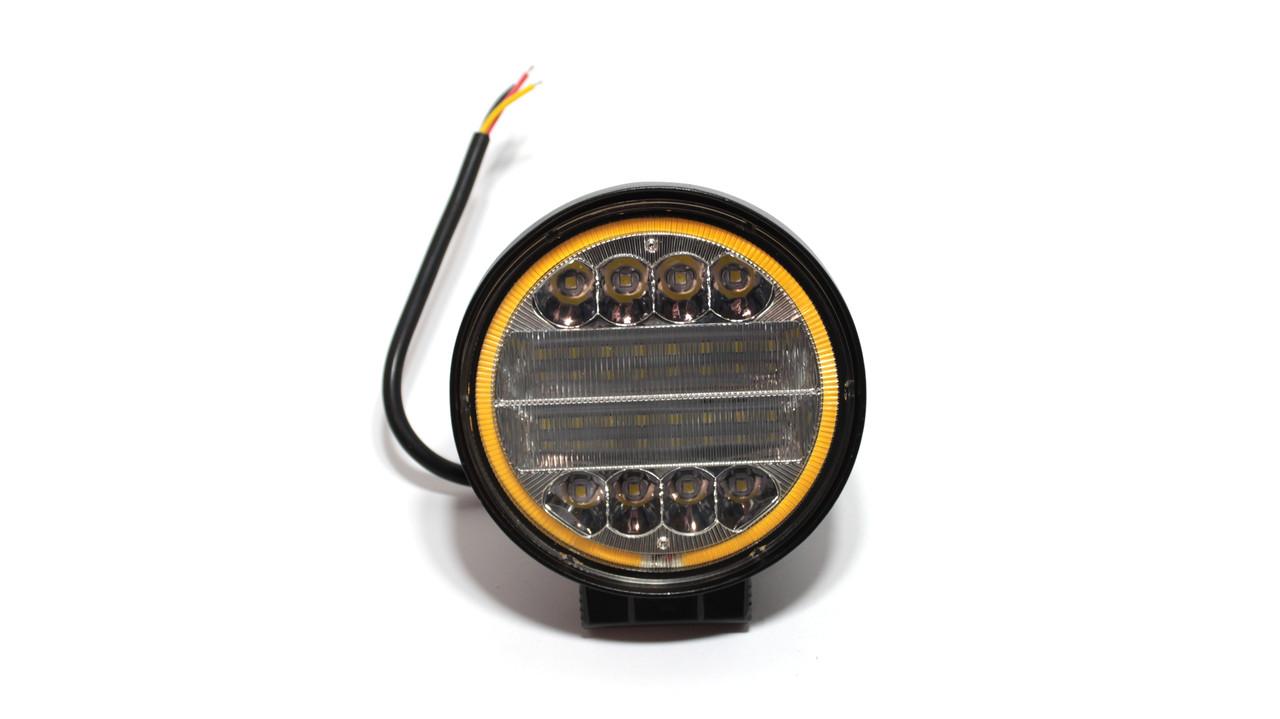 Светодиодная рабочая фара LED 24W. ФГ-304Х (Wassa)