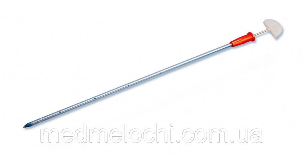 Дренаж торакальний (на металевому стилеті-троакарі) Fr20