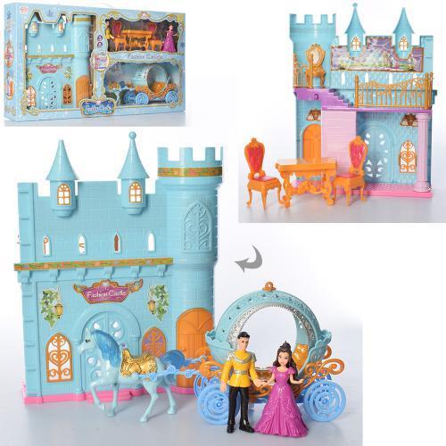 Замок принцеси SS049C з каретою
