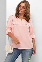 Женская легкая повседневная блуза с рукавом три четверти (1825 mrs), фото 3