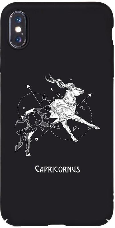 Чохол-накладка TOTO Full PC Print Case Apple iPhone X/XS #166_Capricornus Black #I/S