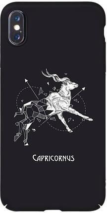 Чохол-накладка TOTO Full PC Print Case Apple iPhone X/XS #166_Capricornus Black #I/S, фото 2