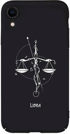 Чохол-накладка TOTO Full PC Print Case Apple iPhone XR #163_Libra Black #I/S, фото 2