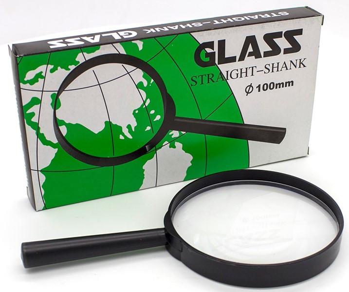 Лупа 100 мм Glass