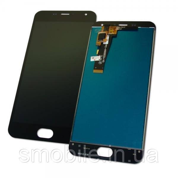 Meizu Дисплей Meizu M2 и M2 mini с сенсором, черный (оригинал Китай)