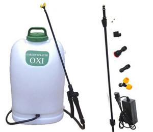 Опрыскиватель электричный аккумуляторный садовый Корея OXI 3WD-161 16 л