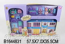 Ляльковий будинок B-862  с ляльками,меблями.батар.муз.світ
