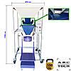 Дозатор весовой для пеллеты комбикорма 1-30кг полуавтоматический фасовщик гранулы в пакет мешок ВДСВ-1, фото 2