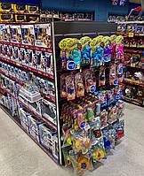 Торговое оборудование для магазина детских товаров WIKO (ВИКО). Стеллажи с полками в магазин игрушек
