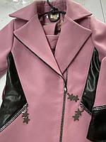 Демисезонное кашемировое пальто для девочек