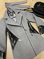 Кашемировое демисезонное детское пальто