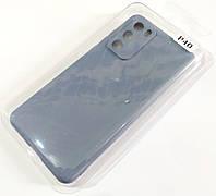 Чехол для Huawei P40 матовый Silicone Case Full Cover Macarons Color, фото 1