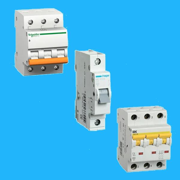 Модульные автоматические выключатели
