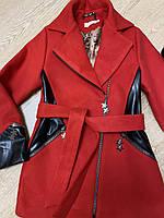 Демисезонное детское кашемировое пальто