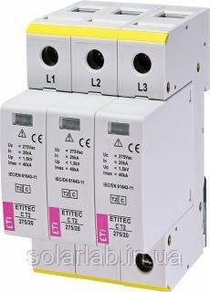 Ограничитель перенапряжения ETI ETITEC C T2 275/20