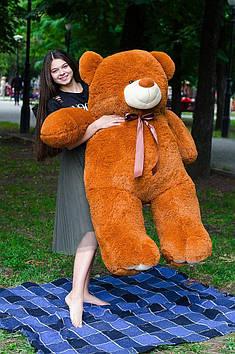 Плюшевий ведмедик Вэтли 160 см Коричневий