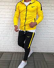 Мужской Спортивный Костюм в стиле Nike / Турция(размер S,XXL)