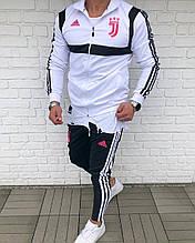 Мужской Спортивный Костюм в стиле Adidas / Турция(Размер S,XXL)