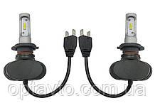Светодиодные лампы Н-7. LED лампы H-7 12-24V 6000K 4000Lm. Тип охлаждения - радиатор. Пр-во Корея