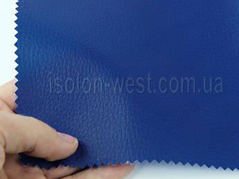 """Кожвініл """"DOLLARO"""" меблевий полу-глянец синій, для перетяжки м'якого куточка, дивана, крісел, шир 1.4 м"""