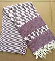 Полотенца пляжные Пештемаль 100*180 (200г/м2), Турция 1247906242