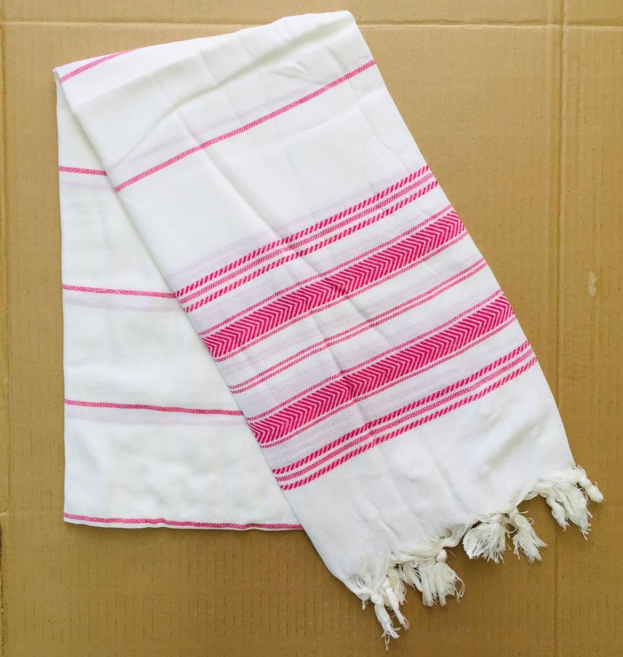 Полотенца пляжные Пештемаль 100*180 (200г/м2), Турция 1247906248