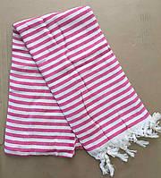 Полотенца пляжные Пештемаль 100*180 (200г/м2), Турция 1247906249