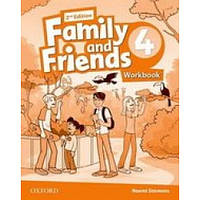 Рабочая тетрадь Family and Friends (Second Edition) 4 Workbook