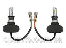 Светодиодные лампы Н-3. LED лампы H-3 12-24V 6000K 4000Lm. Тип охлаждения - радиатор. Пр-во Корея