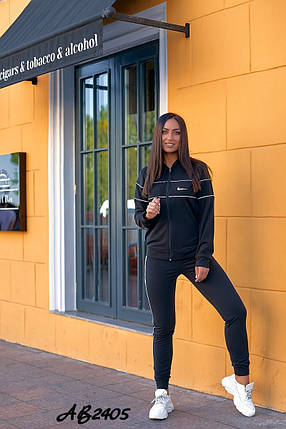 Спортивний костюм жіночий трійка великого розміру 2028 (ВП), фото 2