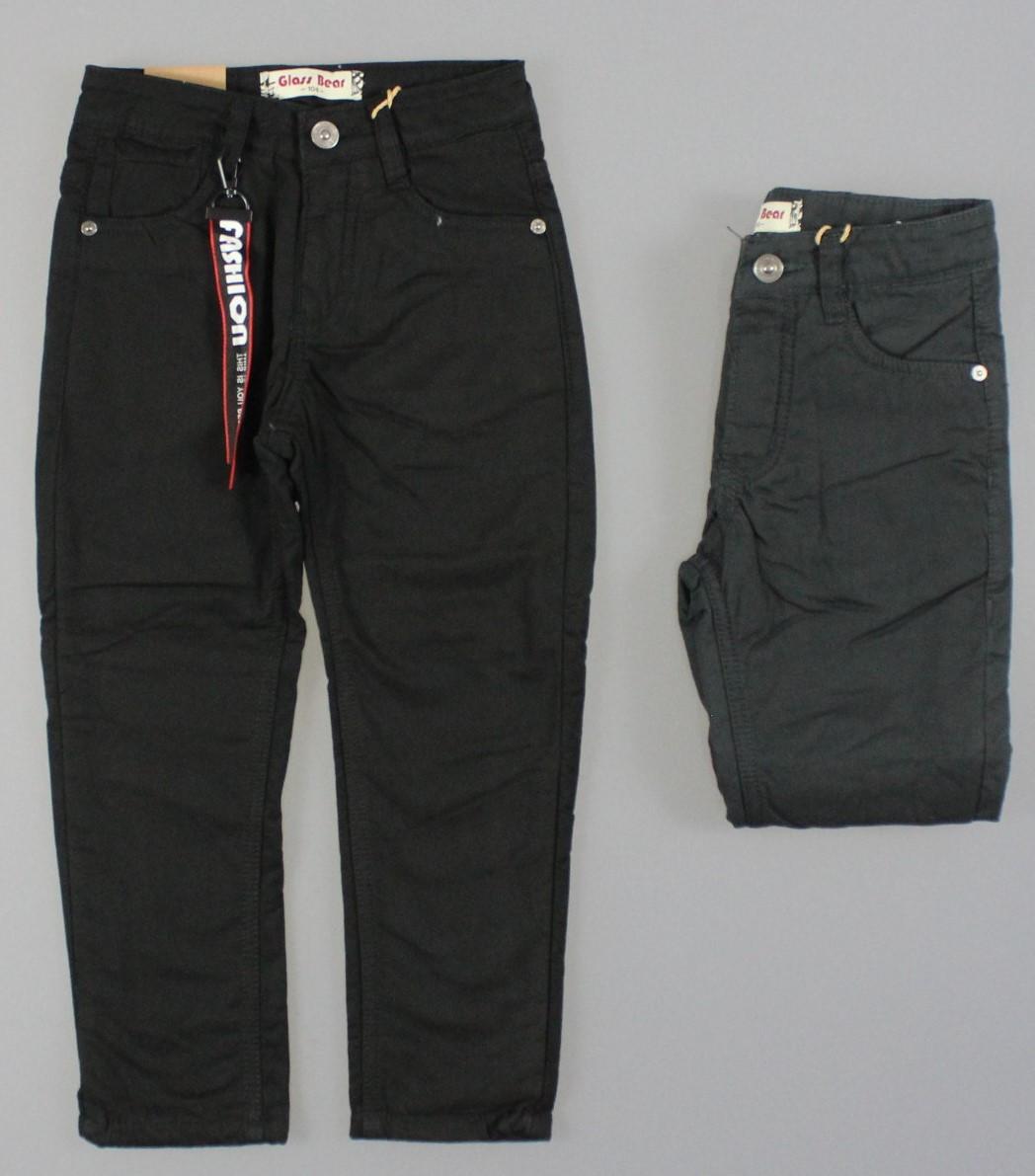 {есть:110,98} Котоновые брюки на флисе для мальчиков Glass Bear , Артикул: L024 [98]