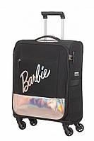 Валіза від American Tourister MODERN GLOW BARBIE , колір чорний ,40x55x20 см | 39 л | 2.4 кг