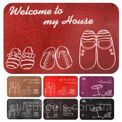 Придверні килимок декоративний 38*58 см