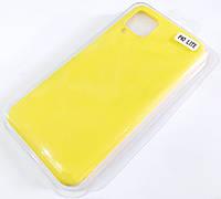 Чохол для Huawei P40 lite матовий Silicone Case Full Cover Macarons Color Жовтий