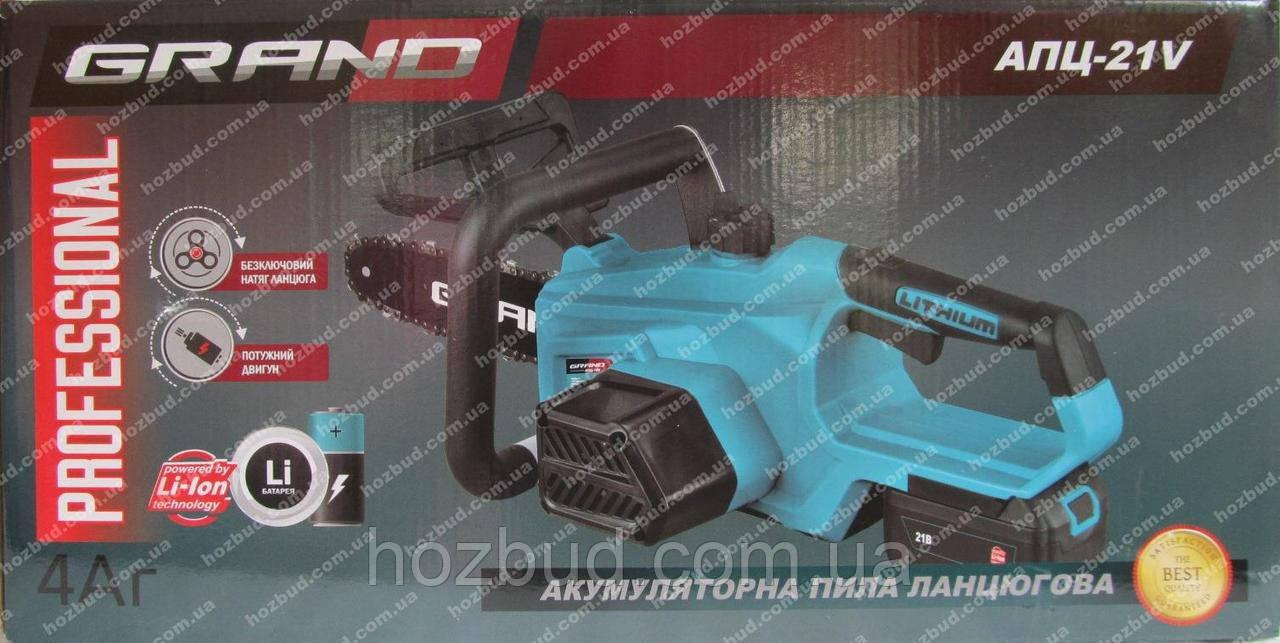 Пила акумуляторна Grand АПЦ-18V